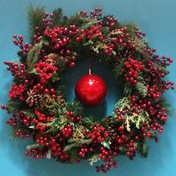 레드버블리스(Red bubble wreath)