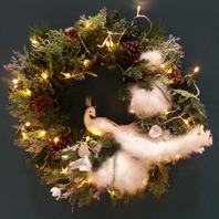 도브리스(dove wreath)