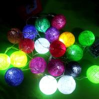 코튼볼조명(cotton ball string light)